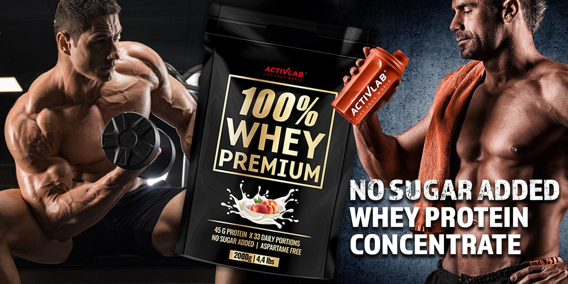 100% Whey Premium - Activlab