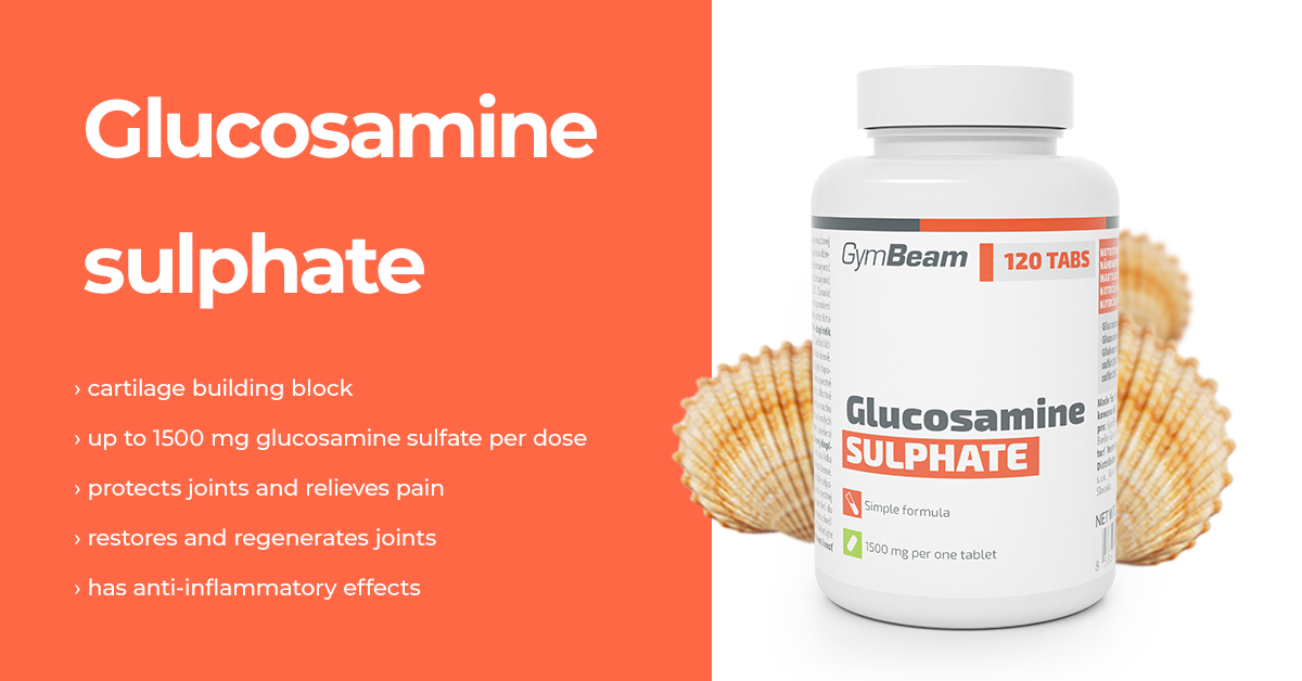 Glukosamín sulfát 120 tab - GymBeam