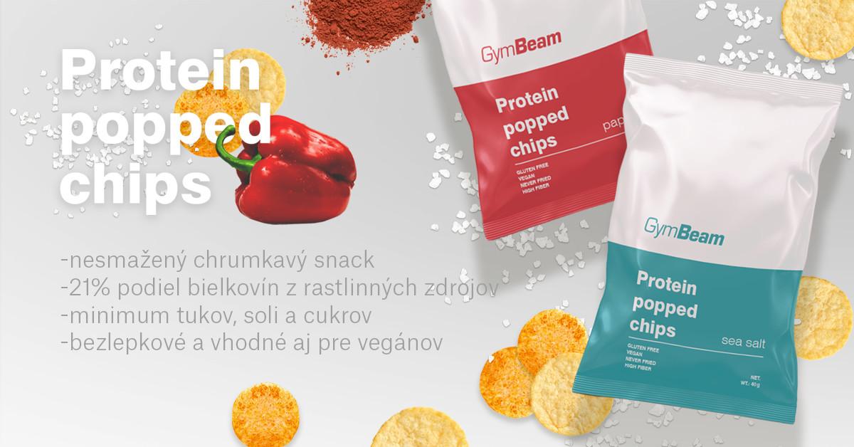 Proteínové čipsy - GymBeam