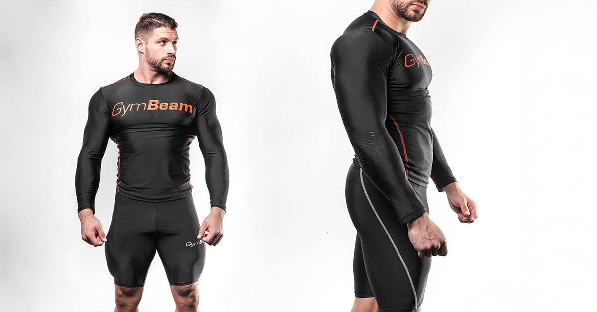 Kompresné šortky Black - GymBeam Clothing