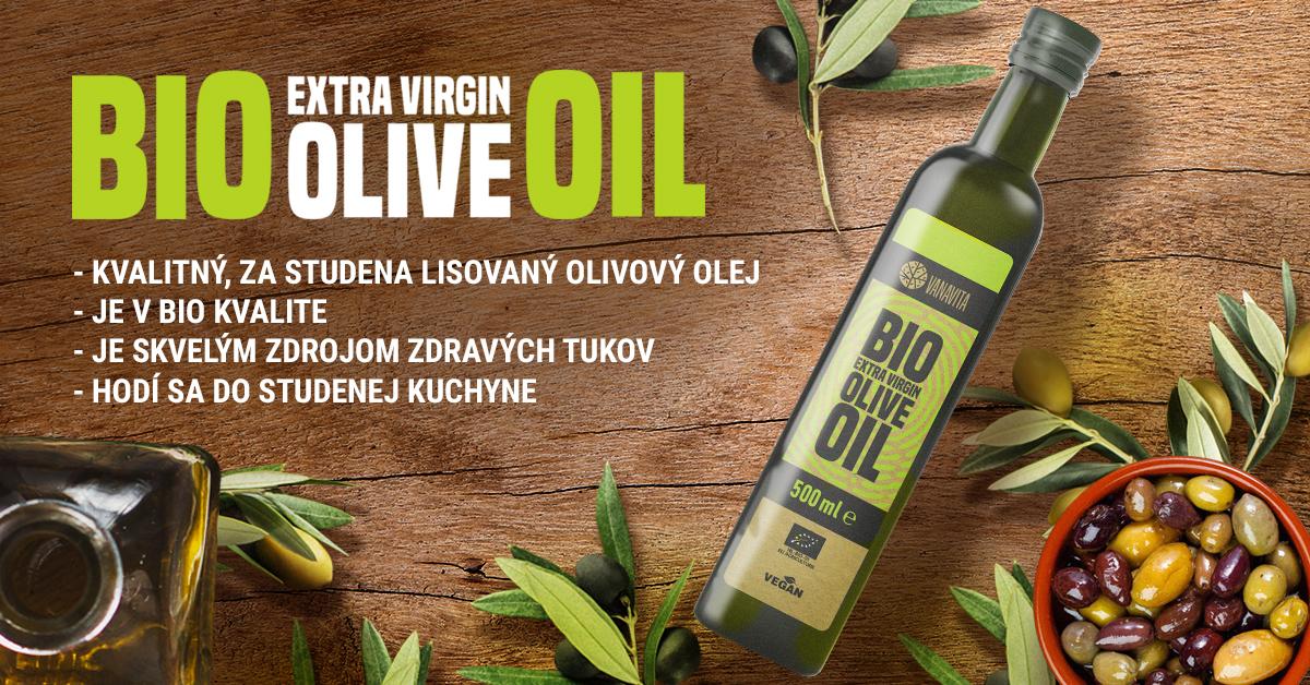 BIO Extra panenský olivový olej - VanaVita