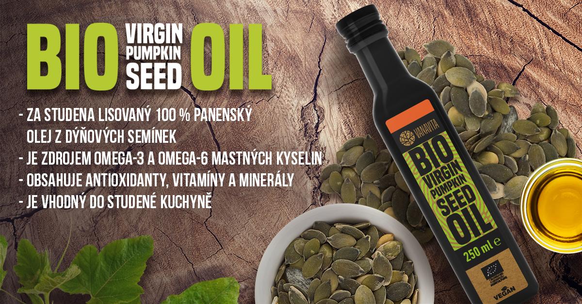 BIO Dýňový olej - VanaVita