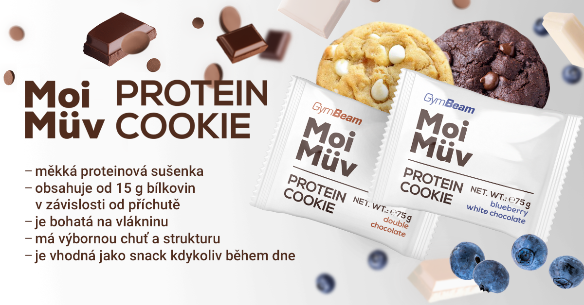 MoiMüv Protein Cookie - GymBeam