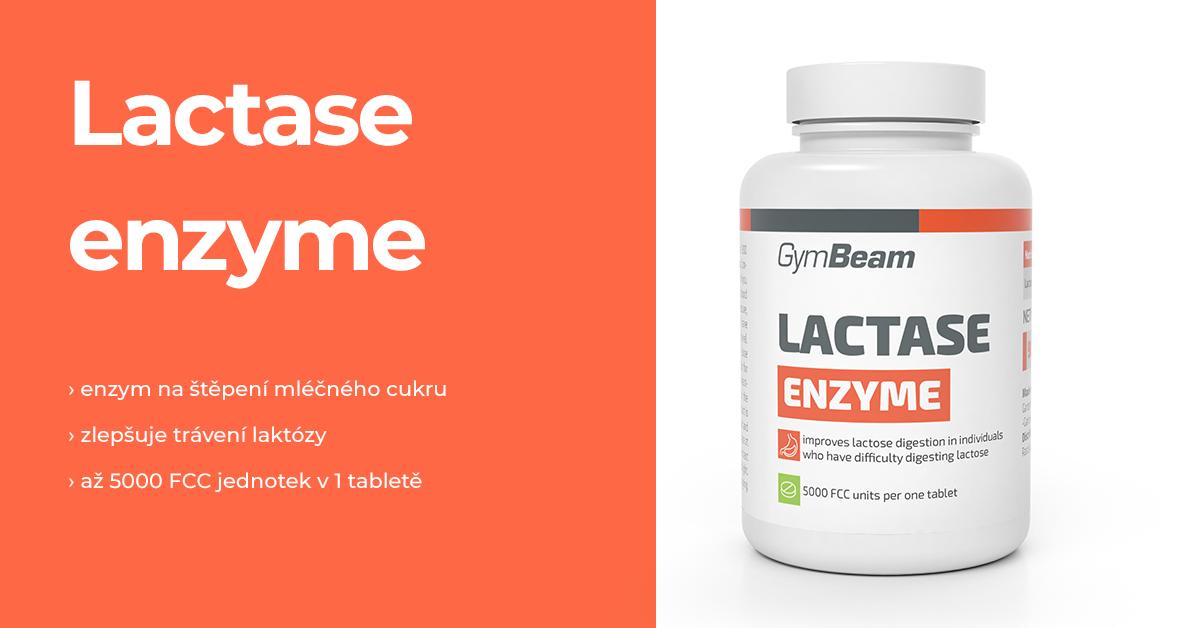 Laktáza enzym - GymBeam