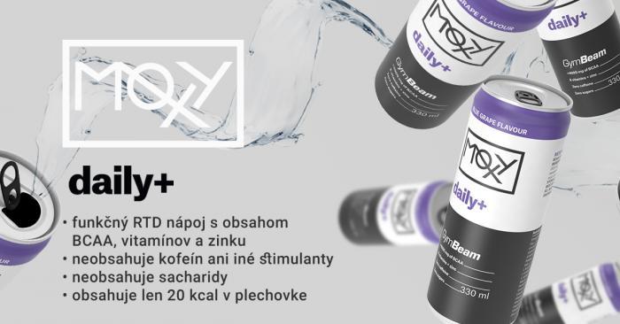 MOXY daily+ 330 ml - GymBeam