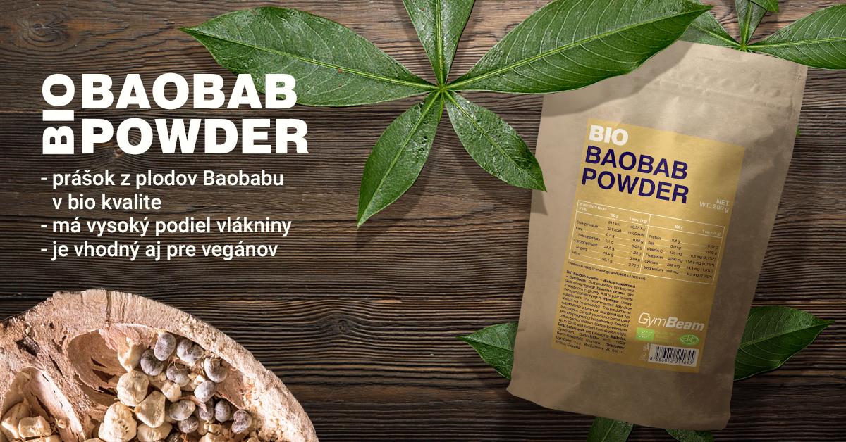 BIO Baobab prášok - GymBeam