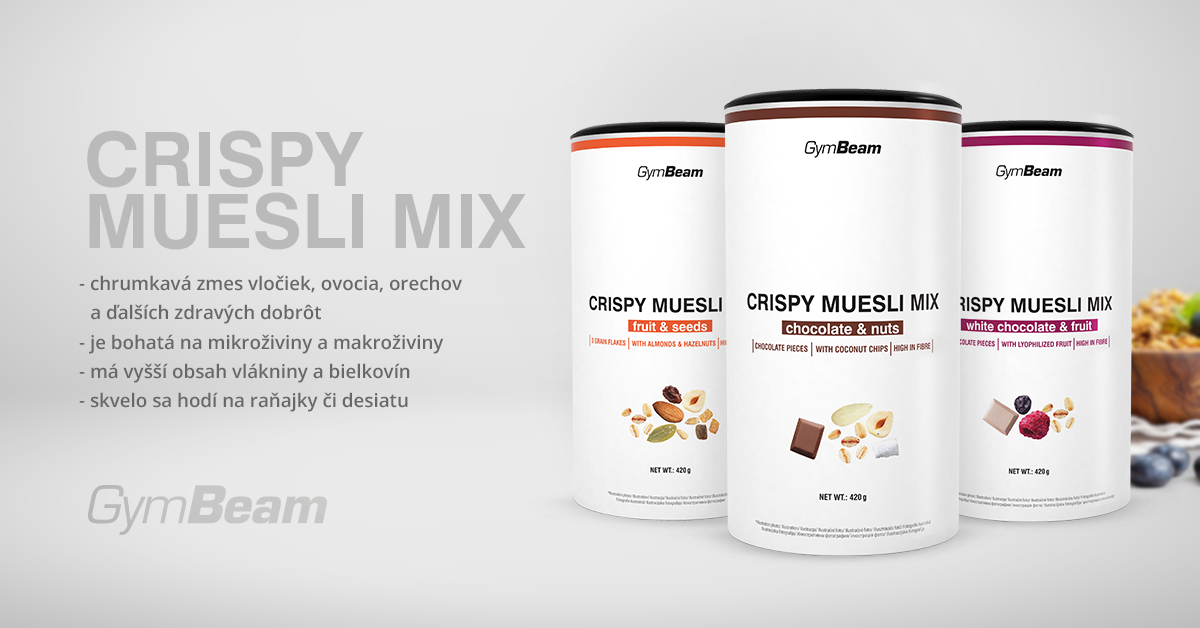 Crispy Muesli Mix - GymBeam