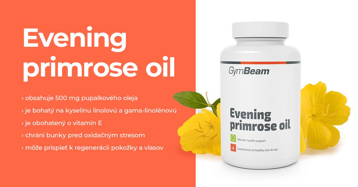 Pupalkový olej - GymBeam