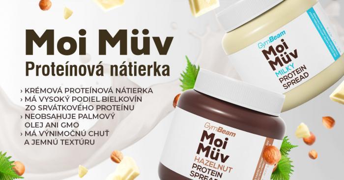 Proteínová nátierka MoiMüv - GymBeam