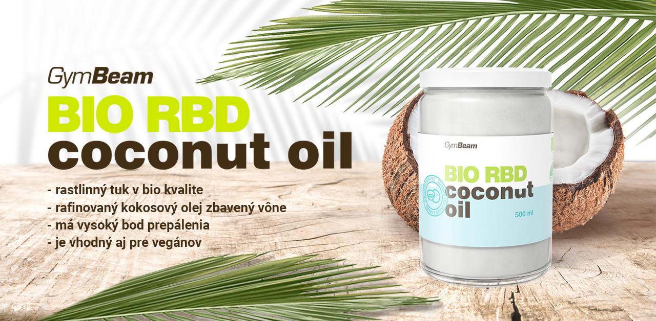 BIO RBD Kokosový olej - GymBeam