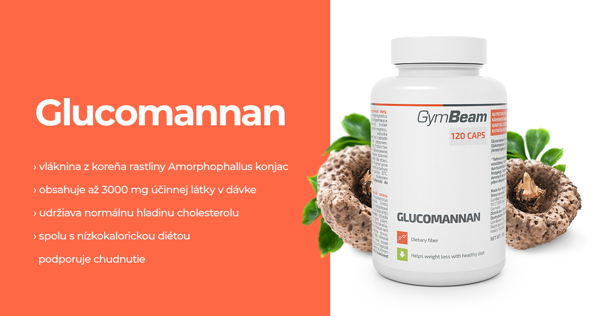 Glukomanán - GymBeam
