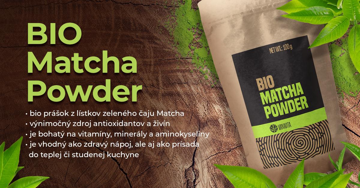 BIO Matcha prášok - VanaVita