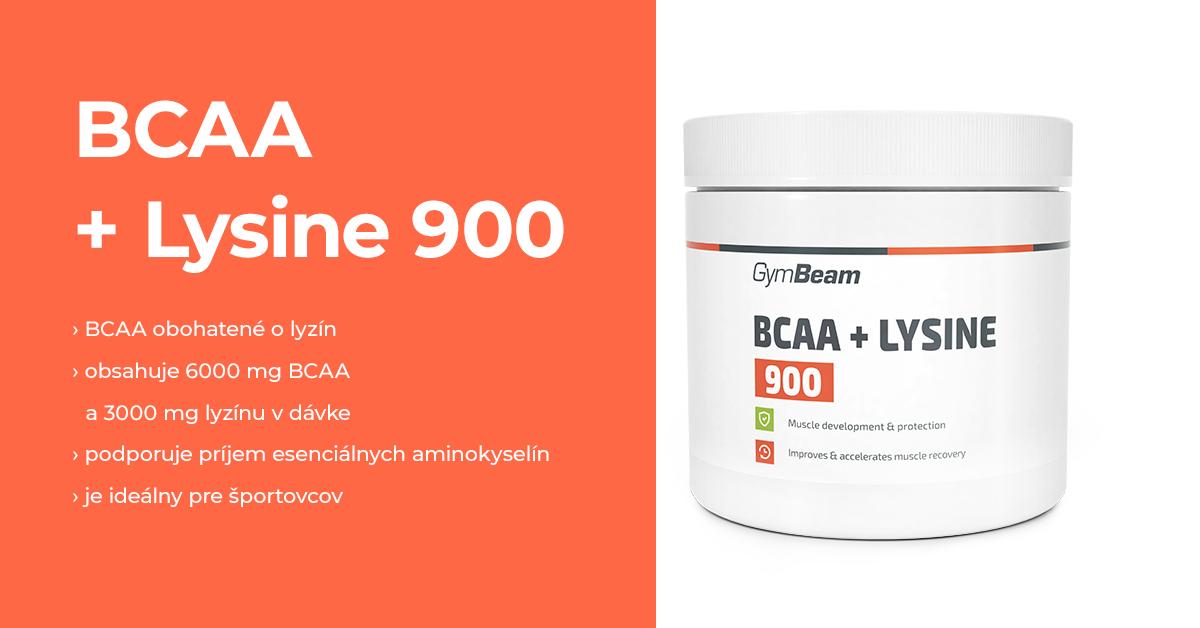 BCAA + Lyzín 900 - GymBeam