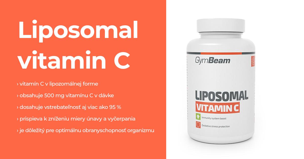 Lipozomálny Vitamín C - GymBeam