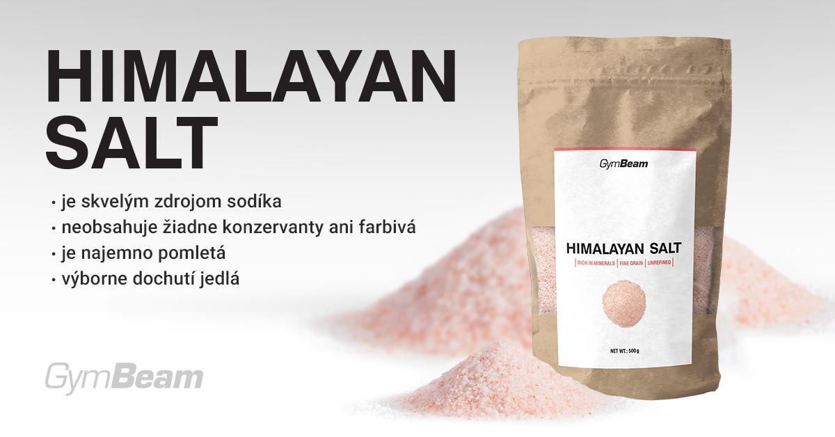 Ružová Himalájska soľ - jemná - GymBeam