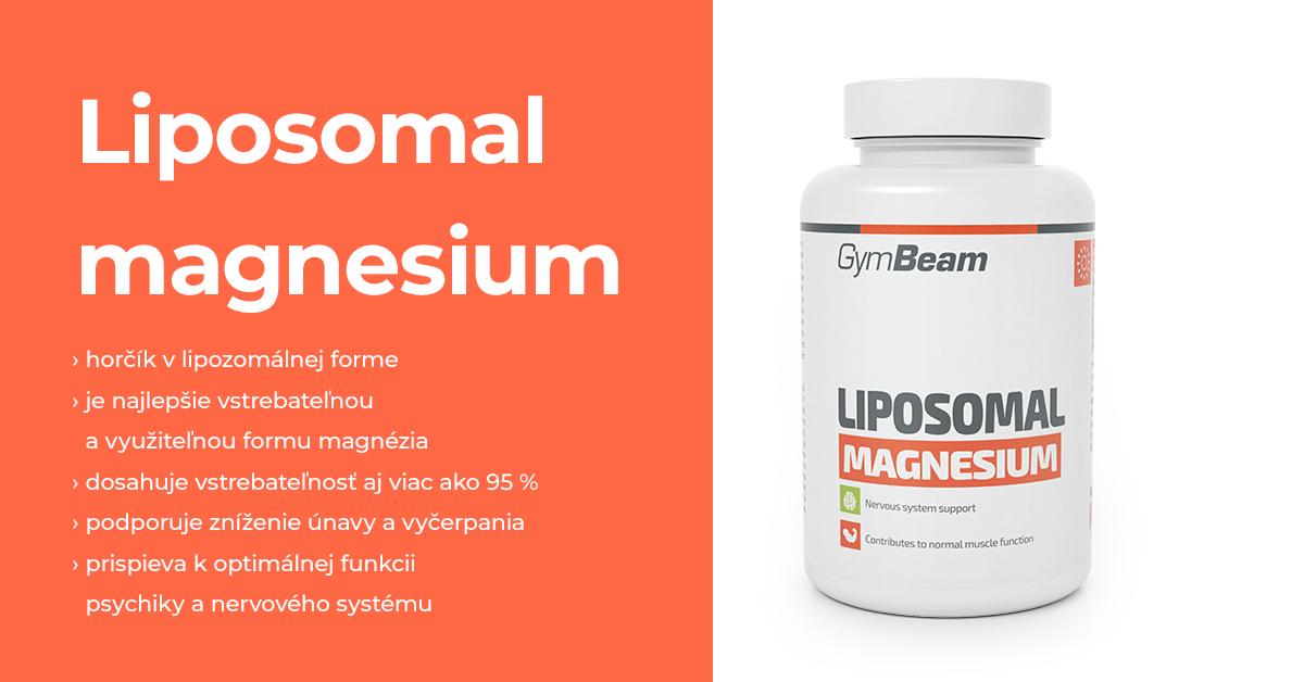 Lipozomálne Magnézium - GymBeam