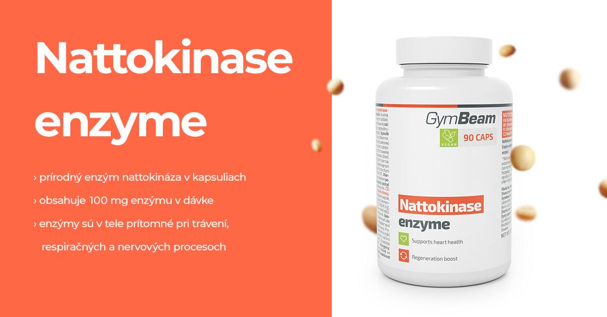 Nattokináza enzým - GymBeam