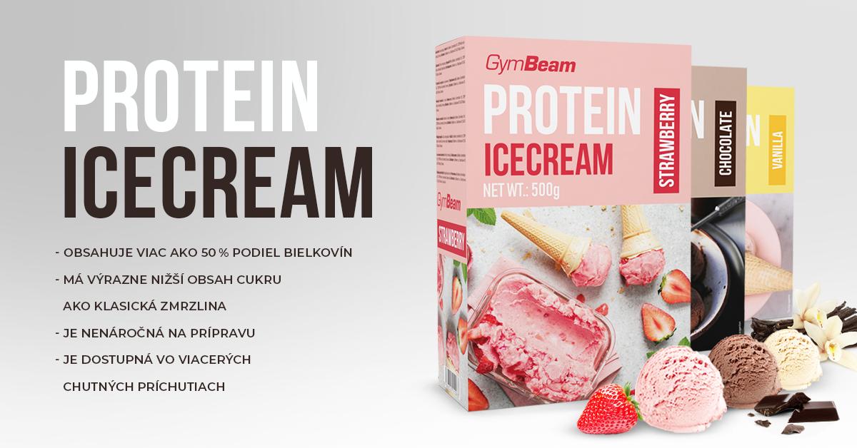 Proteínová zmrzlina Protein Ice Cream 500 g - GymBeam