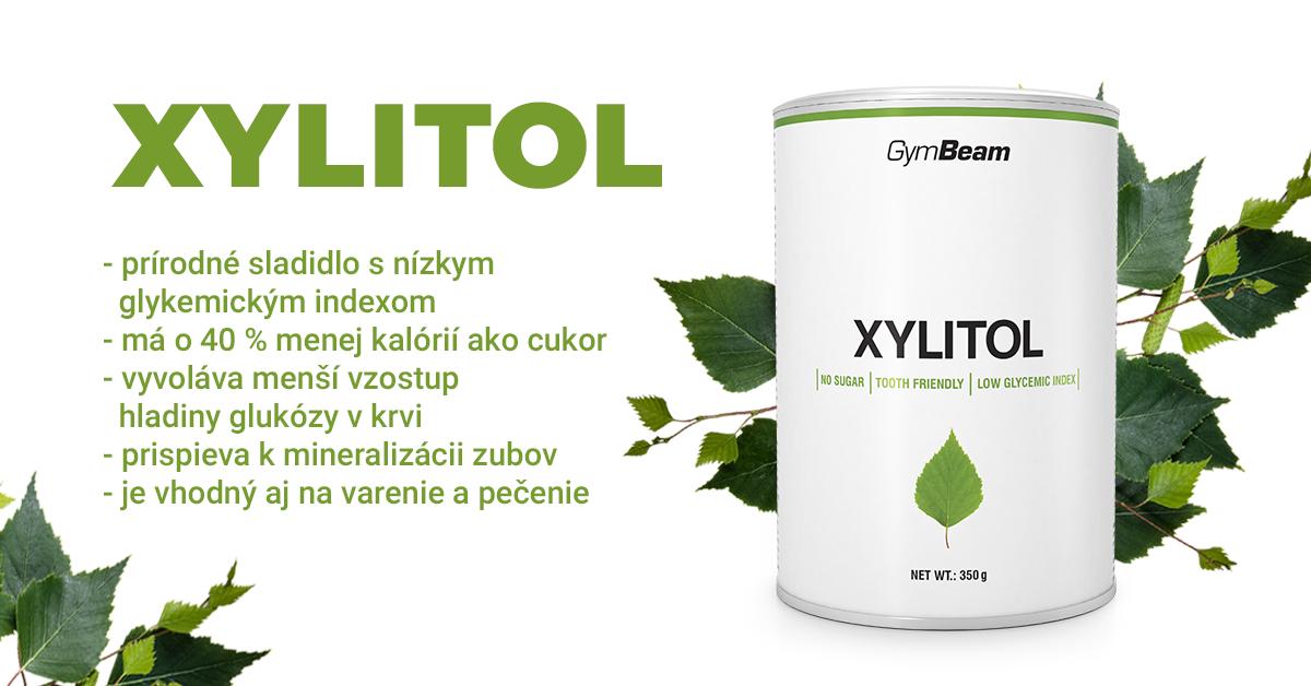 Prírodné sladidlo Xylitol