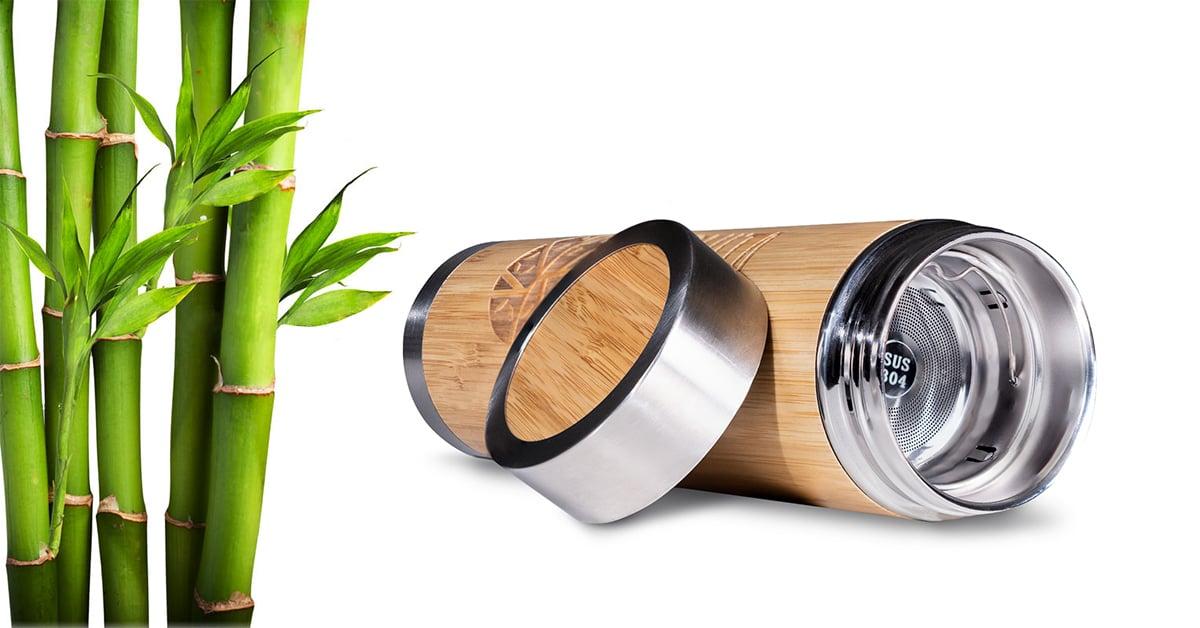 Fľaša Bamboo Infuse 500 ml - Vanavita