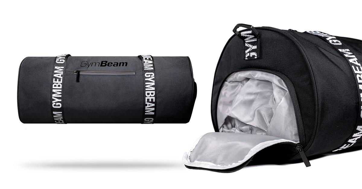 Športová taška Barrel Black - GymBeam