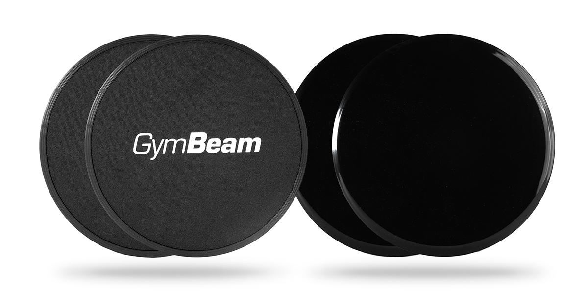 Šmykové podložky Core Sliders - GymBeam