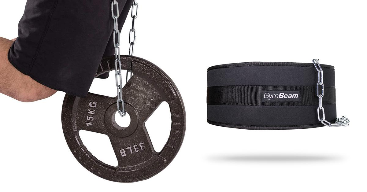 Opasok na závažie Dip Belt - GymBeam