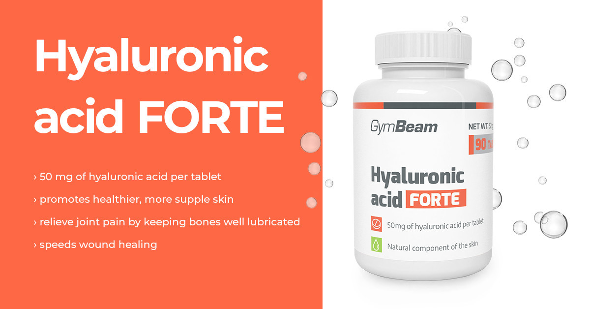 Hyaluronic acid Forte - GymBeam