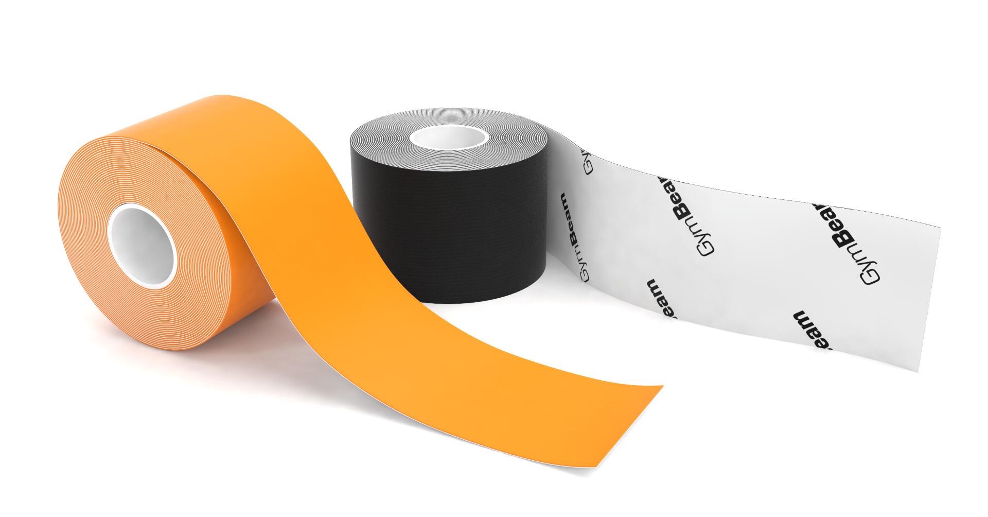 Kineziologická tejpovací páska K tape Black - GymBeam