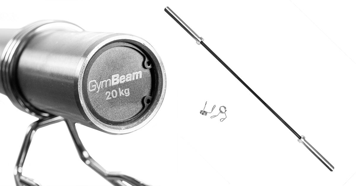 Olympijská tyč LIFTER 20 kg - GymBeam