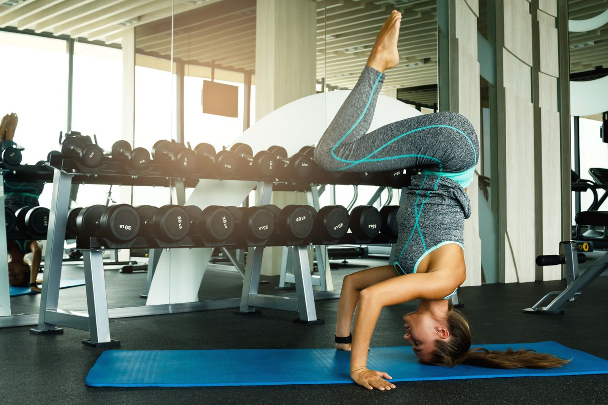 Podložka na cvičení Yoga Mat Blue - gymbeam