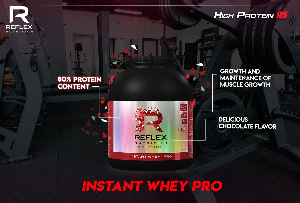 Proteín Instant Whey Pro - Reflex Nutrition