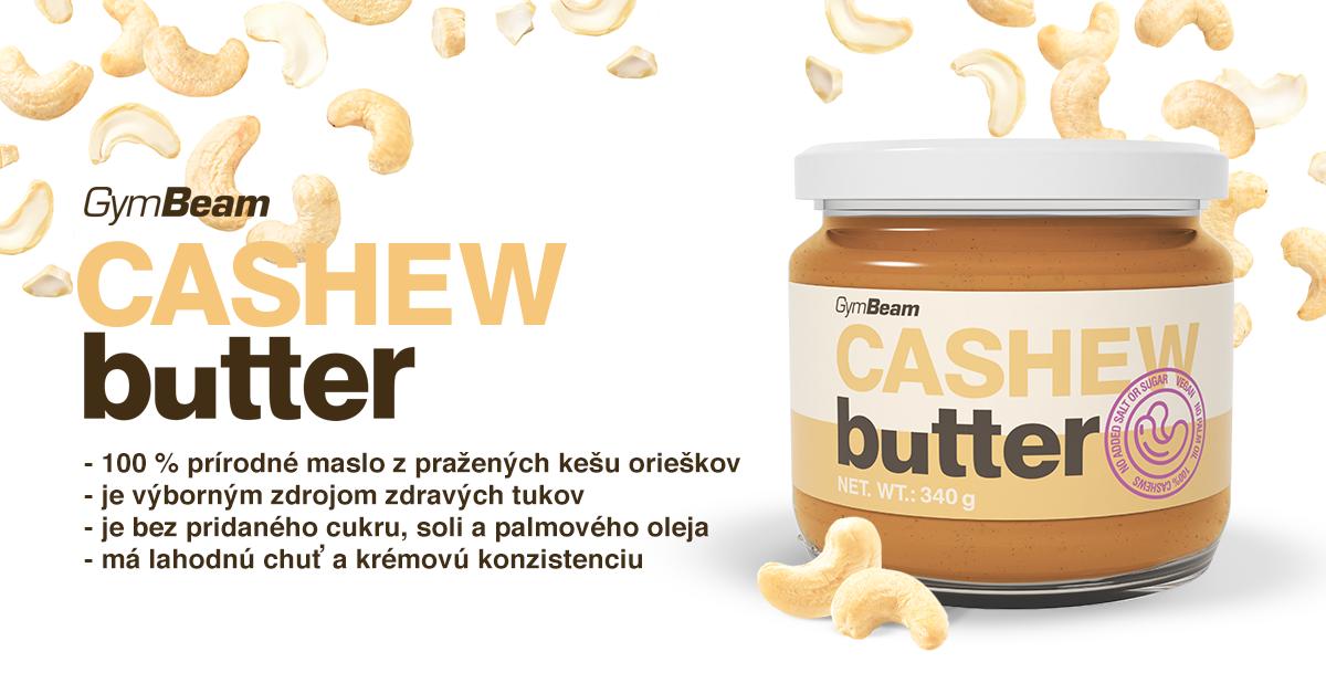 Kešu maslo - GymBeam
