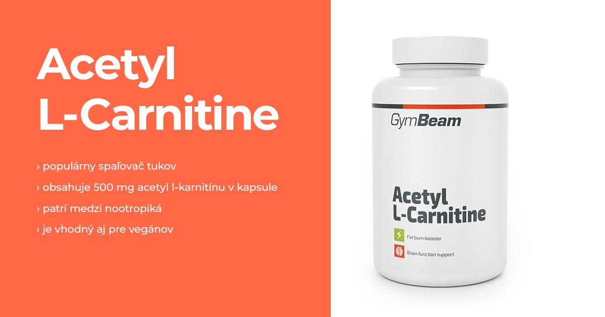 Acetyl L-karnitín - GymBeam