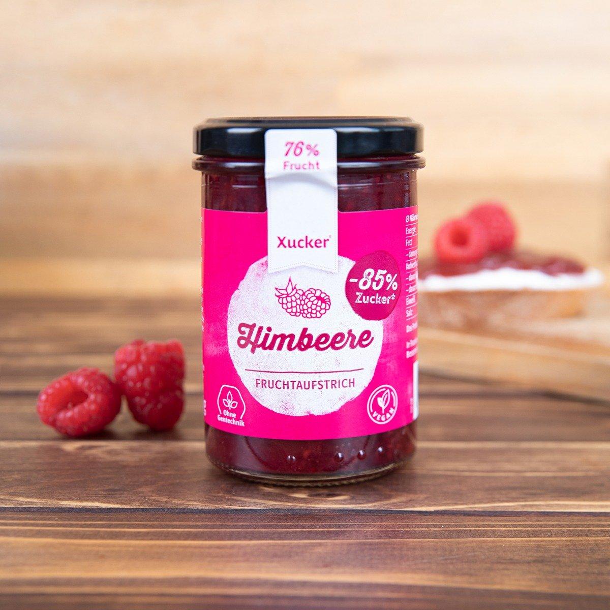 Malinový džem - Xucker