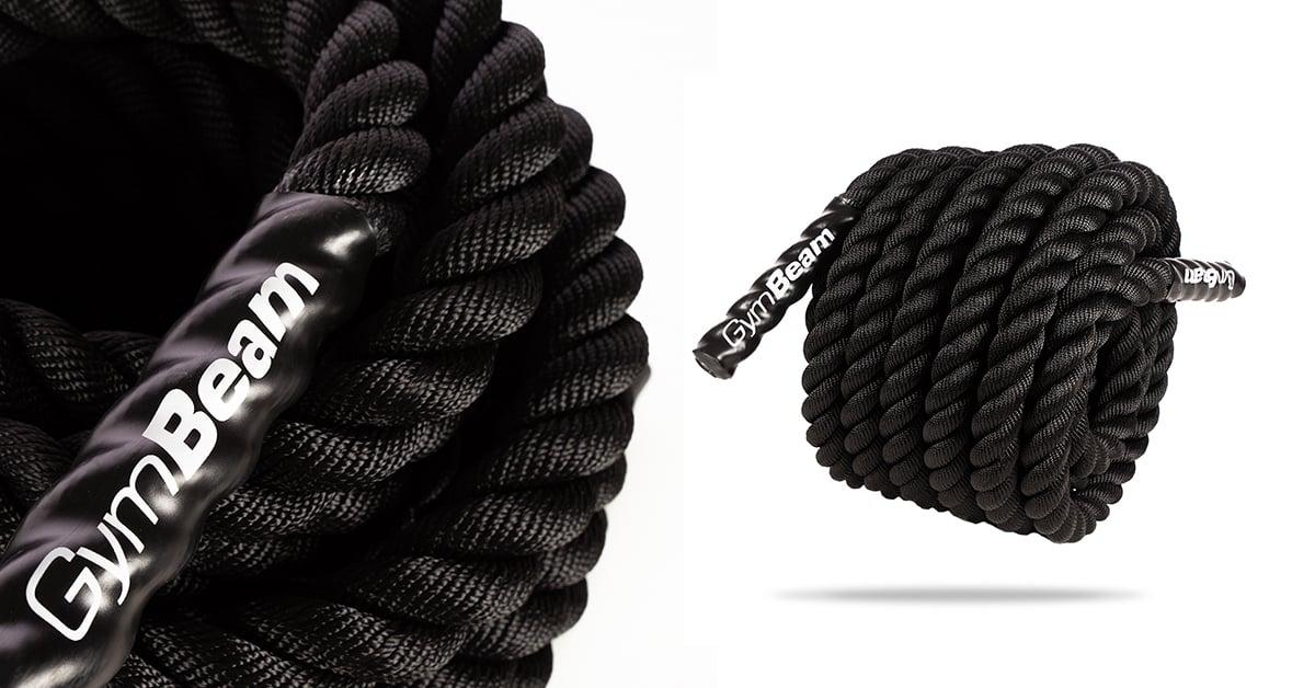 Posilňovacie lano Battle Rope - GymBeam